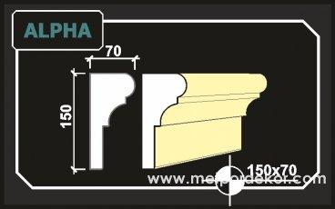 Alpha Söve 15cm x 7cm