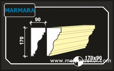 marmara denizlik söve modeli 17cm x 9cm