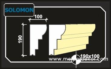 solomon denizlik söve modeli 19cm x 10cm