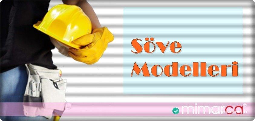 Söve Modelleri - Söve Çeşitleri